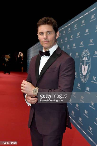 James Marsden attends the IWC Schaffhausen Gala celebrating the launch of the new Pilot's Watches at the Salon International de la Haute Horlogerie...