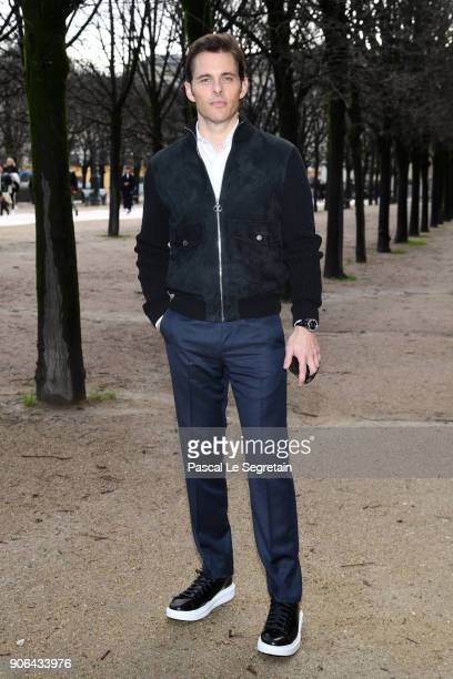 James Marsden attends the Louis Vuitton Menswear Fall/Winter 20182019 show as part of Paris Fashion Week on January 18 2018 in Paris France