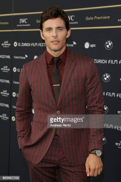 James Marsden attends the 'Shock and Awe' premiere at the 13th Zurich Film Festival on September 30 2017 in Zurich Switzerland The Zurich Film...