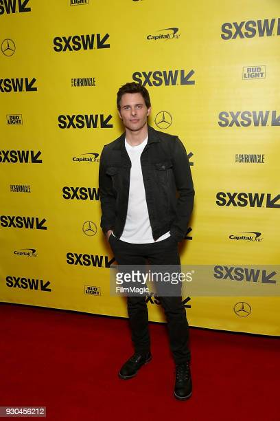 James Marsden attends the Westworld Featured Session during SXSW at Austin Convention Center on March 10 2018 in Austin Texas