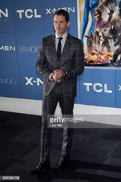 """James Marsden attends the """"X-Men: Days of Future Past"""" global premiere at Jacob K. Javits Convention Center in New York City. © LAN"""