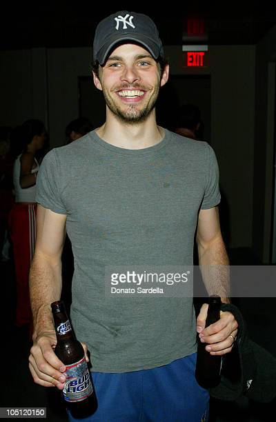 James Marsden during The Launch of Avia Retro and Performance Basketball Collection at Concorde Bar in Hollywood California United States
