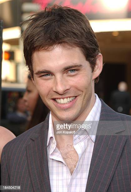 James Marsden during 'The Notebook' World Premiere Arrivals at Mann Village Theatre in Westwood California United States