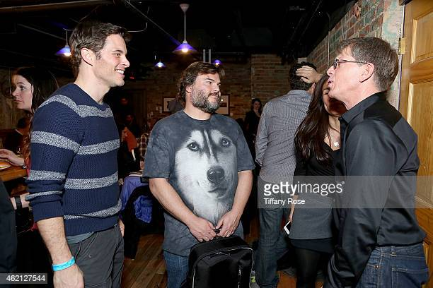 James Marsden Jack Black and Kenny Griswold attend ChefDance 2015 Presented By Victory Ranch And Sponsored By Merrill Lynch Freixenet And Anchor...
