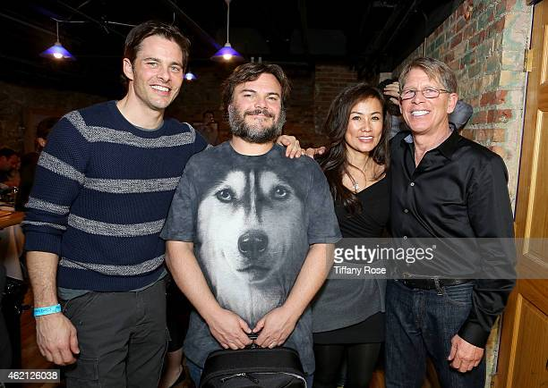 James Marsden, Jack Black, Mimi Kim and Kenny Griswold attend ChefDance 2015 Presented By Victory Ranch And Sponsored By Merrill Lynch, Freixenet And...