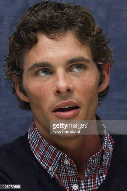 James Marsden poses for a photo during a portrait session at the Four Seasons Hotel in Beverly Hills, California on April 11, 2010. Reproduction by...