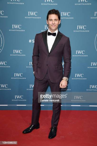 James Marsden walks the red carpet for IWC Schaffhausen at SIHH 2019 on January 15 2019 in Geneva Switzerland