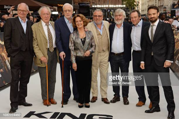 James Marsh Jim Broadbent Michael Gambon Sir Michael Caine Francesca Annis Ray Winstone Sir Tom Courtenay Paul Whitehouse and Charlie Cox attend the...