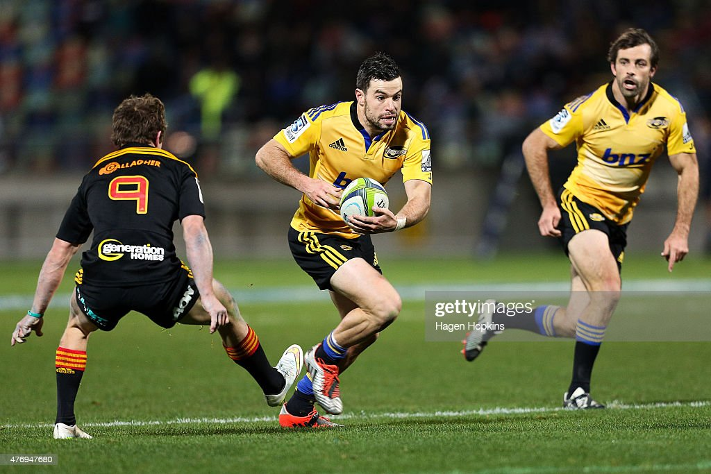 Super Rugby Rd 18 - Chiefs v Hurricanes : News Photo
