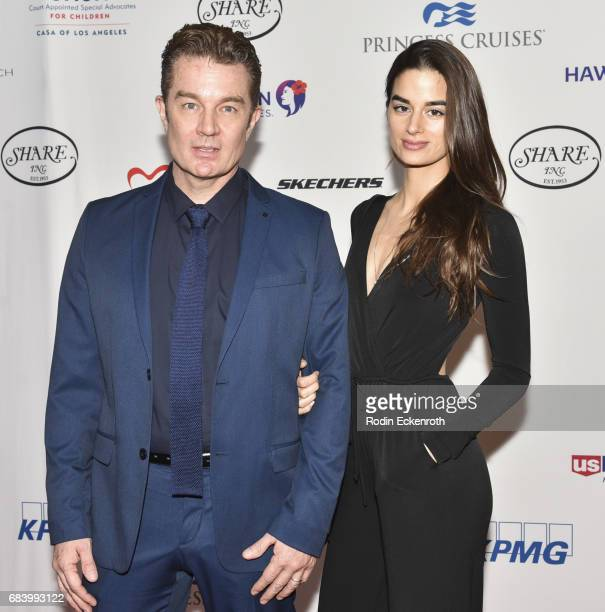 James Marsters and Jasmin Marsters attend 2017 CASA of Los Angeles Evening to Foster Dreams Gala at The Beverly Hilton Hotel on May 16 2017 in...