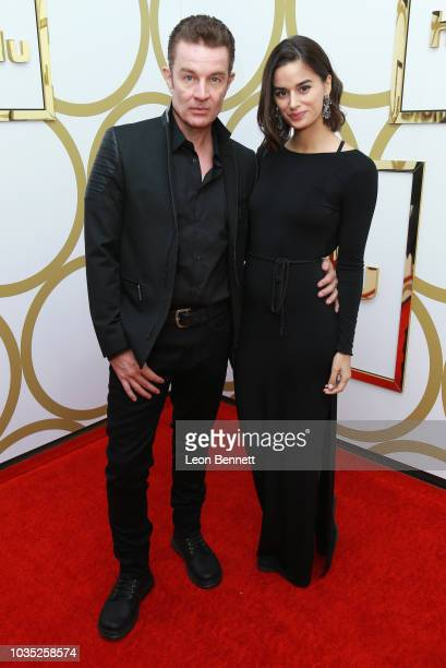 James Marsters and Patricia Rahman attend Hulu's 2018 Emmy Party at Nomad Hotel Los Angeles on September 17 2018 in Los Angeles California