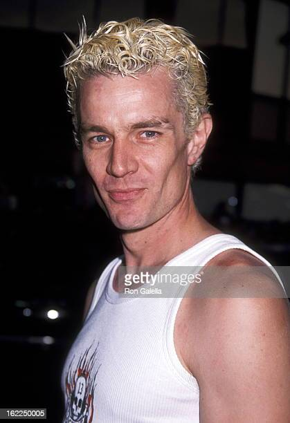 James Marsters attends the premiere of 'American Pie 2' on August 6 2001 at Mann National Theater in Westwood California