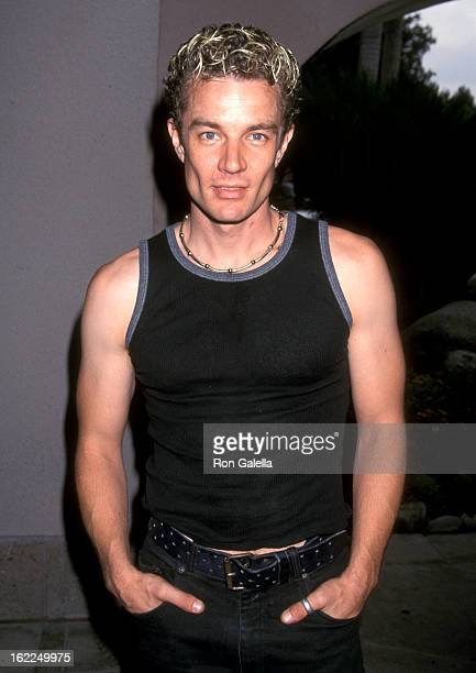 James Marsters attends UPN Summer TCA Press Tour on July 16 2001 at the Ritz Carlton Hotel in Pasadena California