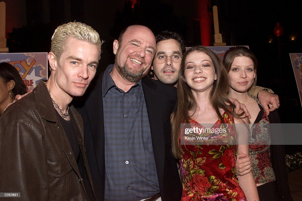 James Marsters, Dean Valentine, Nicholas Brendon, Michelle Trachtenberg And  Amber Benson At A