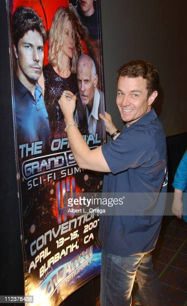 James Marsters during Creation Entertainment's Grand Slam/SciFi Summit XV Day 2 at Burbank Airport Marriott Hotel in Burbank California United States