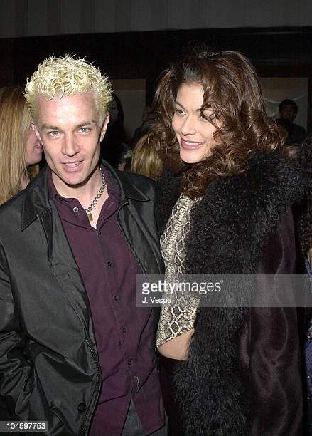 James Marsters during WB Network All Star Party at Il Fornaio Restaurant in Pasadena California United States