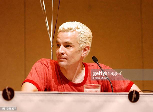 James Marsters Spike from TV's 'Buffy the Vampire Slayer' and member of band 'Ghost of the Robot'