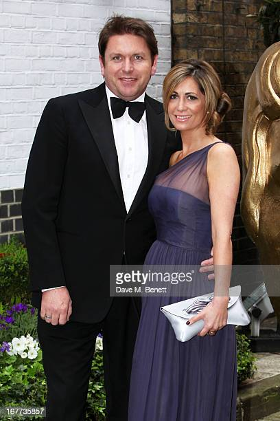 James Martin and Guest attend the BAFTA Craft Awards at The Brewery on April 28 2013 in London England