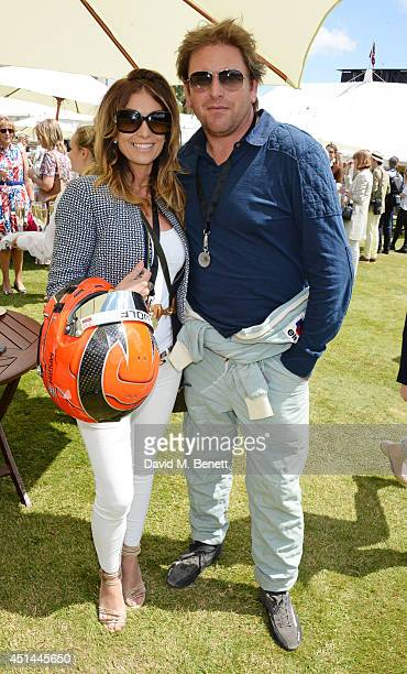 James Martin and guest attend the Cartier Style Luxury Lunch at the Goodwood Festival of Speed on June 29 2014 in Chichester England