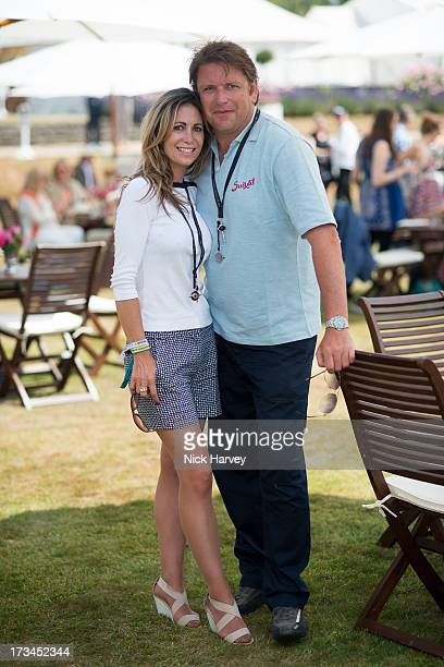James Martin and Louise Davis attend the Cartier Style et Luxe at Goodwood Festival of Speed on July 14 2013 in Chichester England