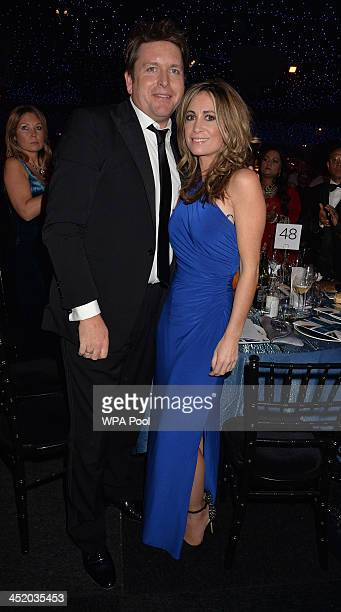 James Martin and partner Louise Davies attend the British curry awards at Battersea Evolution on November 25 2013 in London England The annual event...