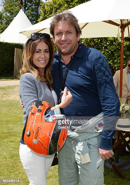 James Martin attend the Cartier Style Luxury Lunch at the Goodwood Festival of Speed on June 29 2014 in Chichester England