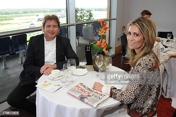 James Martin attends the Festival of Food and Wine raceday at Ascot Racecourse on September 7 2013 in Ascot England