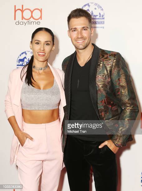 James Maslow and Gabriela Lopez attend the 2018 Daytime Hollywood Beauty Awards held on September 14 2018 in Hollywood California