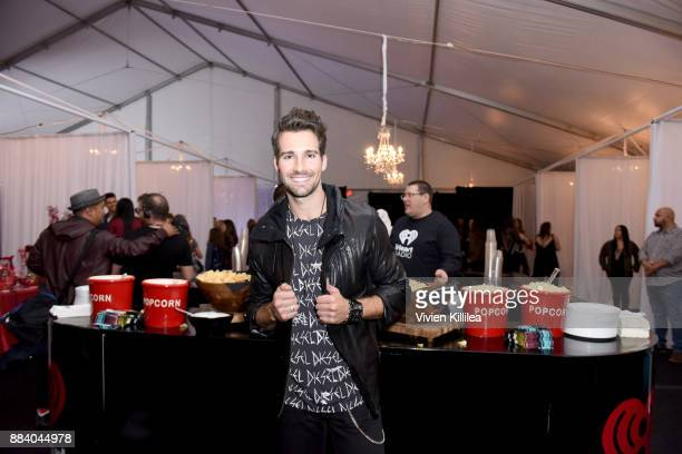 James Maslow attends the 1027 KIIS FM Artist Gift Lounge at 1027 KIIS FM's Jingle Ball 2017 presented by Capital One at The Forum on December 1 2017...