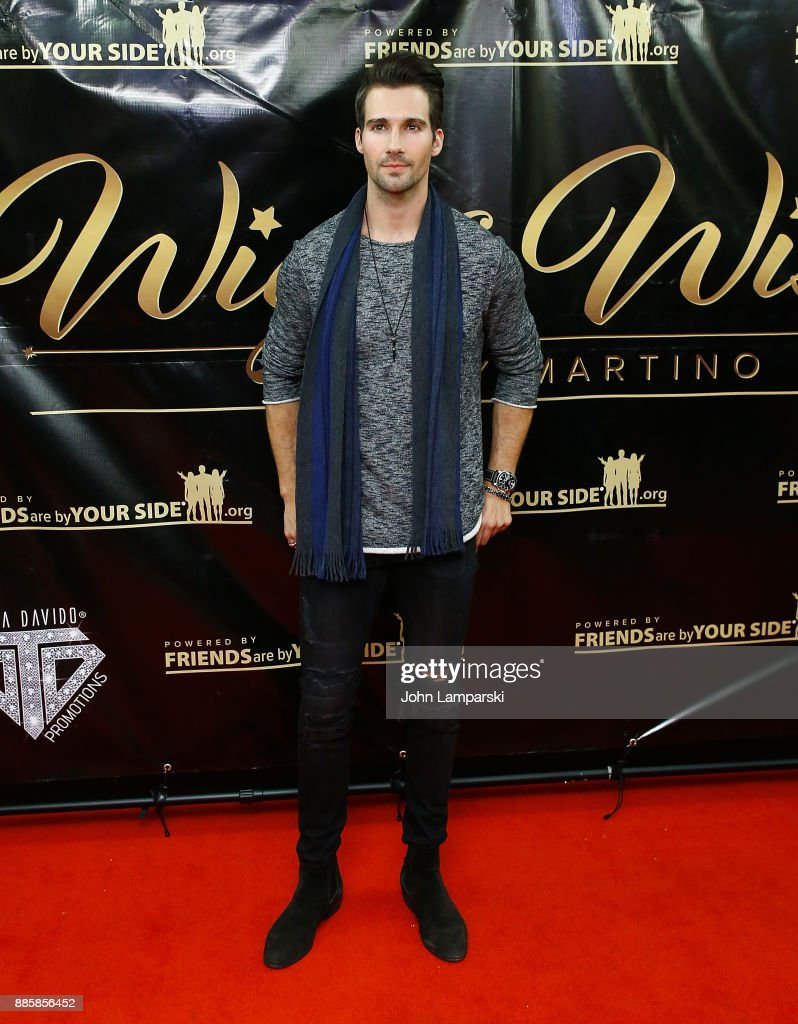 James Maslow attends the 2017 One Night With The Stars benefit at the Theater at Madison Square Garden on December 4, 2017 in New York City.