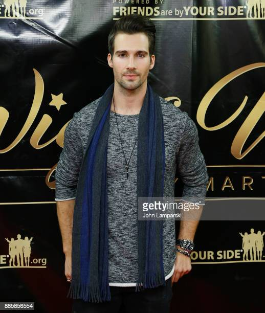 James Maslow attends the 2017 One Night With The Stars benefit at the Theater at Madison Square Garden on December 4 2017 in New York City