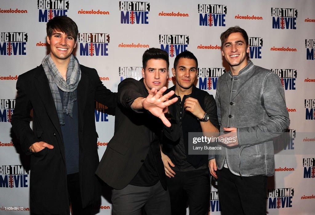 "Nickelodeon Hosts Orange Carpet Premiere For Original TV Movie ""Big Time Movie"" Starring Big Time Rush - Meet & Greet : News Photo"