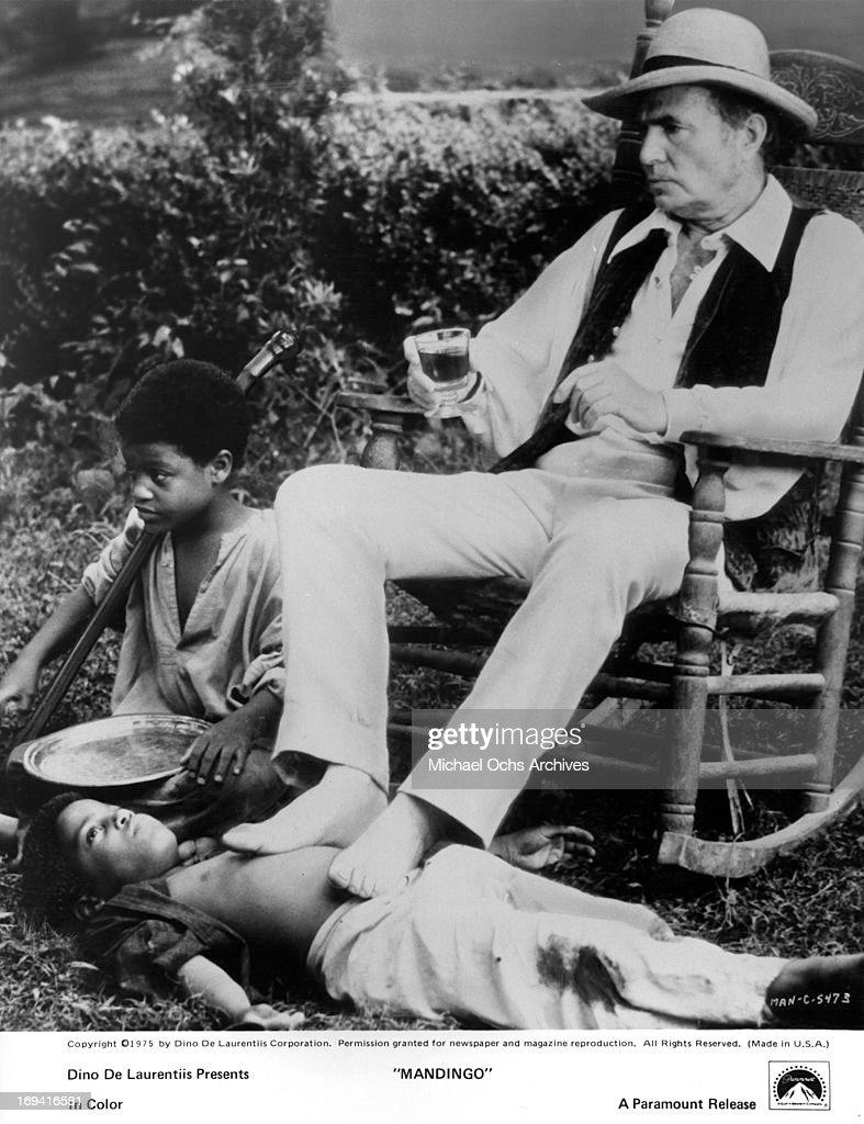James Mason In 'Mandingo' : News Photo