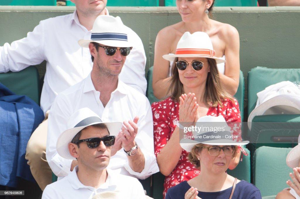 * CORBIS - Celebrities At 2018 French Open