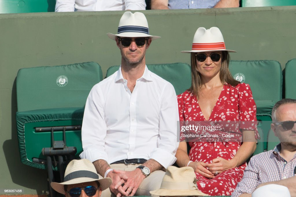 Celebrities At 2018 French Open : Day One : News Photo