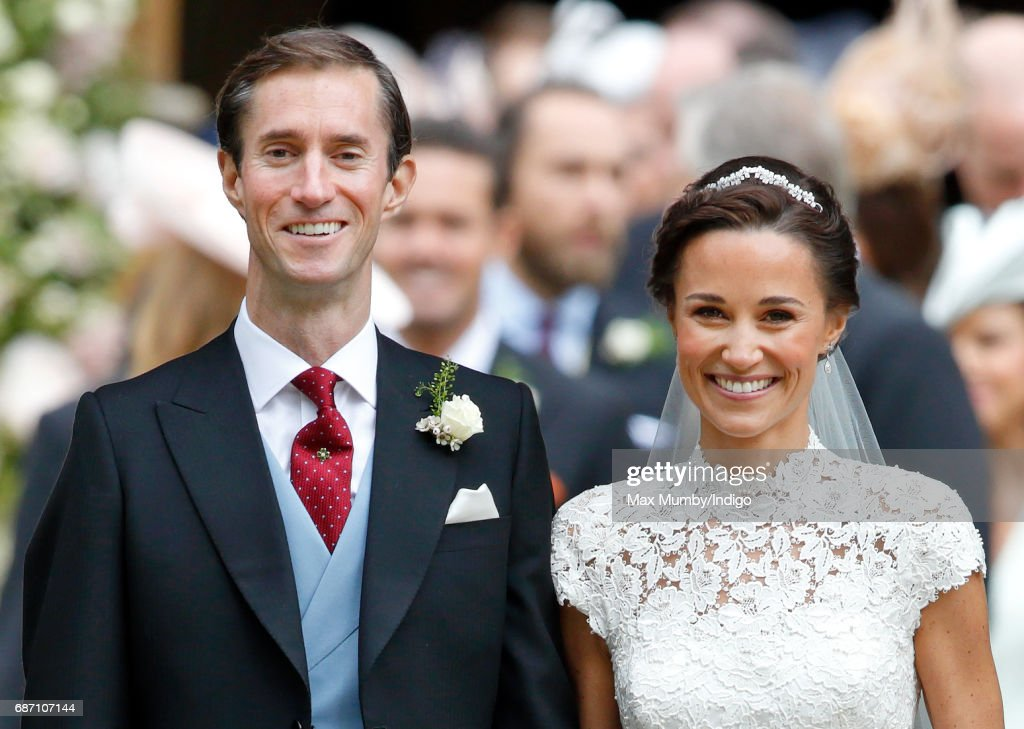 Wedding Of Pippa Middleton And James Matthews : News Photo