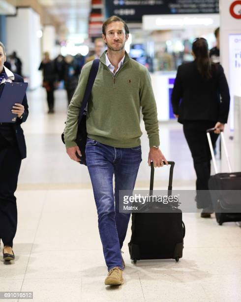 James Matthews is seen at Sydney airport on June 1 2017 in Sydney Australia