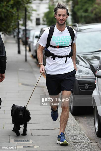 James Matthews leaves home on July 21 2016 in London England