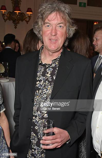 James May attends as Audi hosts the opening night performance of 'La Fille Mal Gardee' at The Royal Opera House on April 23 2015 in London England