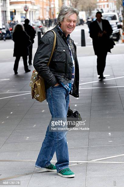 James May seen at the BBC Portland Place on March 30 2015 in London England