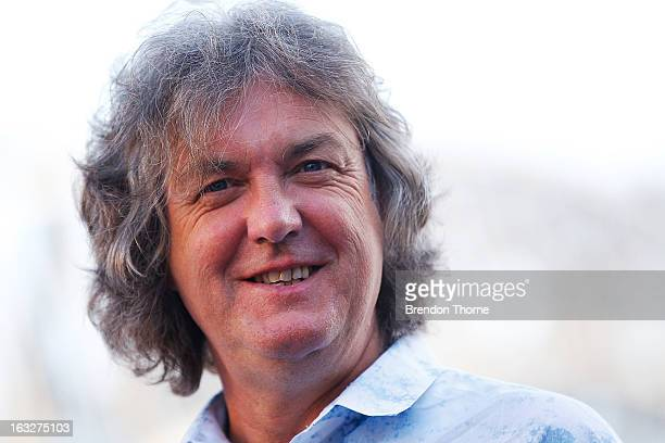 James May speaks with the media at Campbell's Cove Boardwalk ahead of the Inaugural Top Gear Festival Sydney this weekend on March 7 2013 in Sydney...