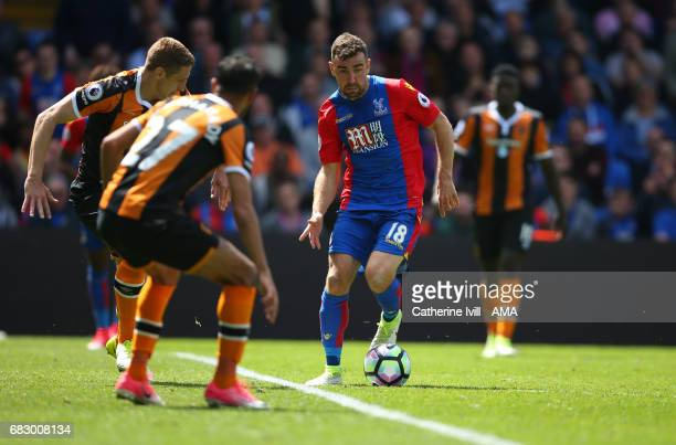 James McArthur of Crystal Palace during the Premier League match between Crystal Palace and Hull City at Selhurst Park on May 14 2017 in London...