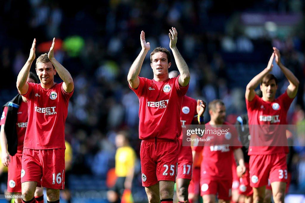 West Bromwich Albion v Wigan Athletic - Premier League