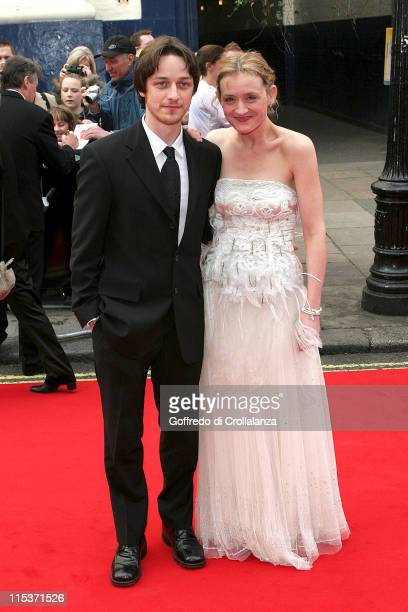 James McAvoy and AnneMarie Duff during The Pioneer British Academy Television Awards Outside Arrivals at Royal Theatre in London Great Britain