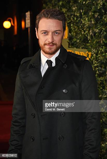 James McAvoy arrives at The 62nd London Evening Standard Theatre Awards recognising excellence from across the world of theatre and beyond at The Old...