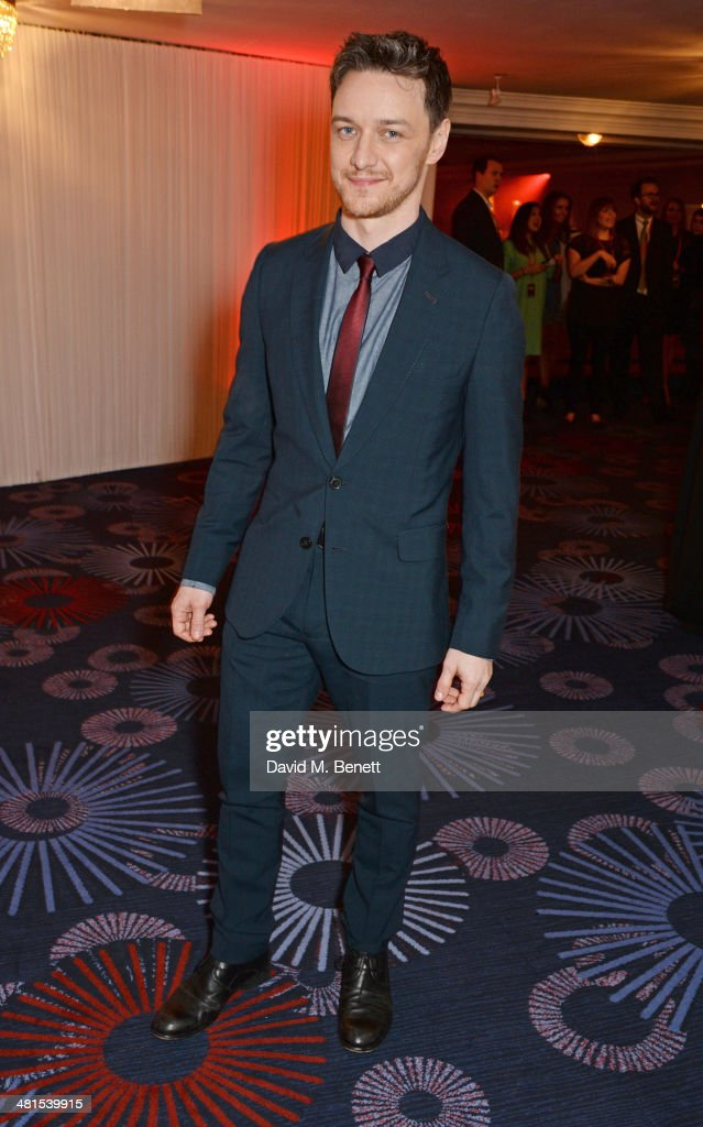 James McAvoy arrives at the Jameson Empire Awards 2014 at The Grosvenor House Hotel on March 30, 2014 in London, England.
