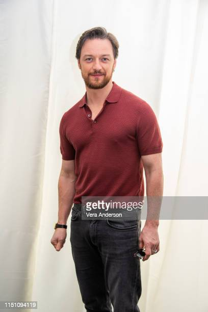 James McAvoy at the Dark Phoenix Press Conference at the Mandarin Oriental Hotel on May 22 2019 in London England