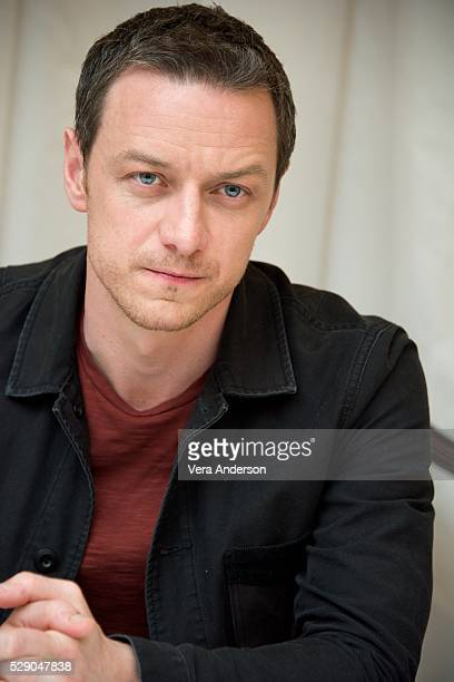 James McAvoy at the 'XMen Apocalypse' Press Conference at the Lanesborough Hotel on May 7 2016 in London England