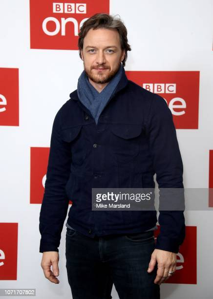 James McAvoy attends a photocall for BBC One's 'Watership Down' at BFI Southbank on November 24 2018 in London England