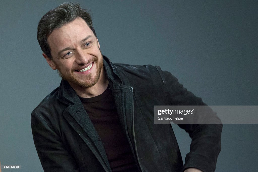 James McAvoy attends Meet the Actor at Apple Store Soho on January 19, 2017 in New York City.